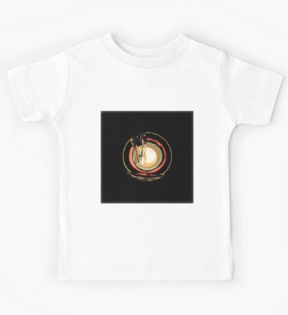 Abstract Art, Flipped Photo, multicolor, gifts, decor and wall art Kids Tee