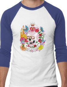 El Dia de Los Muertos Men's Baseball ¾ T-Shirt