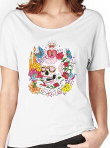 El Dia de Los Muertos Women's Relaxed Fit T-Shirt