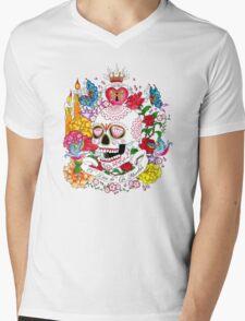 El Dia de Los Muertos Mens V-Neck T-Shirt