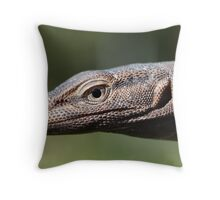 Black Headed Monitor - Varanus tristis Throw Pillow