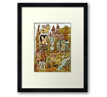 Bird Field Framed Print
