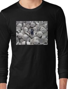 Bowl of TARDIS Long Sleeve T-Shirt
