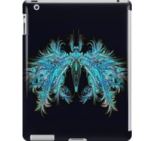 Fantasy Insect, Teal Moth iPad Case/Skin