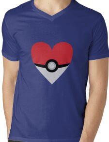 caught my heart 2 Mens V-Neck T-Shirt