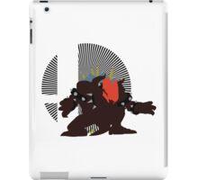 Giga Bowser - Sunset Shores iPad Case/Skin