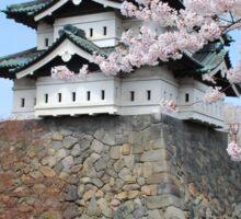 Cherry blossoms at Hirosaki Castle Sticker