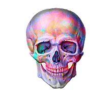 Space Skull  Photographic Print