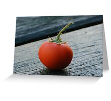 Mini Tomato Greeting Card