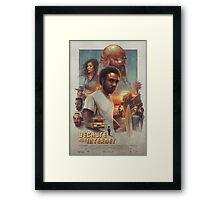 Because the Internet Poster Childish Gambino Framed Print