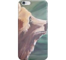 Grizzly Profile Country Cabin Decor iPhone Case/Skin