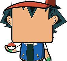 Ash Ketchum (Pokemon) Quin by Mattbrush
