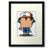Ash Ketchum (Pokemon) Quin Framed Print