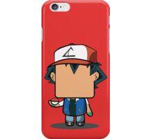 Ash Ketchum (Pokemon) Quin iPhone Case/Skin