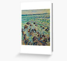 Stones on the sea Greeting Card