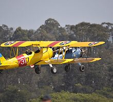 Formation Take-off, Camden Airport, Australia 2014 by muz2142