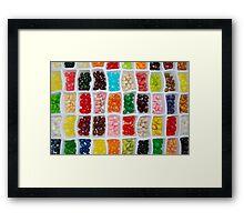 Jelly Beans... Framed Print