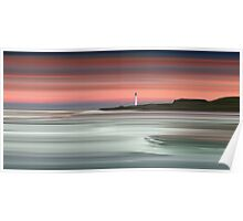 Barns Ness Lighthouse Poster