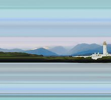 Lismore Lighthouse, Isle of Mull by bluefinart