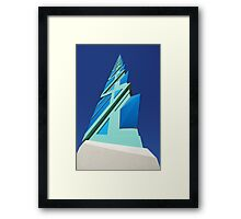 frank lloyd wright Framed Print
