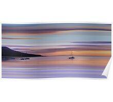 Brodick Bay Dawn, Isle of Arran Poster