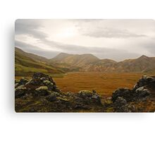 There must be giants Canvas Print