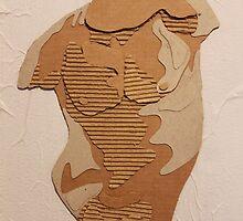 Cardboard Torso by gingerycat
