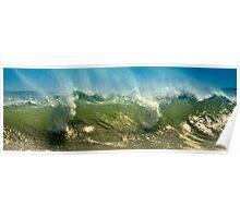 Wave Mist Poster