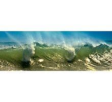 Wave Mist Photographic Print