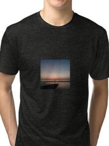 beach walk Tri-blend T-Shirt