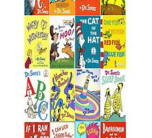 Dr. Suess Books - Iphone 6 Case by Mbart94