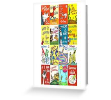 Dr. Suess Books - Iphone 6 Case Greeting Card