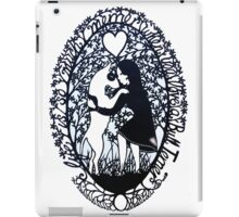 Life Is So Much Merrier When You Love A Bull Terrier iPad Case/Skin