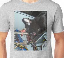 Lil Bear Helps Fix Computer Unisex T-Shirt