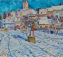 Winter in Moravia. Podivin by Vitali Komarov