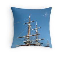 Tall Ships Tasmania Throw Pillow