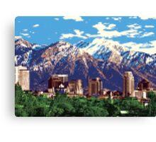 Iconic Salt Lake City Canvas Print