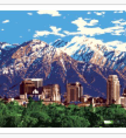 Iconic Salt Lake City Sticker