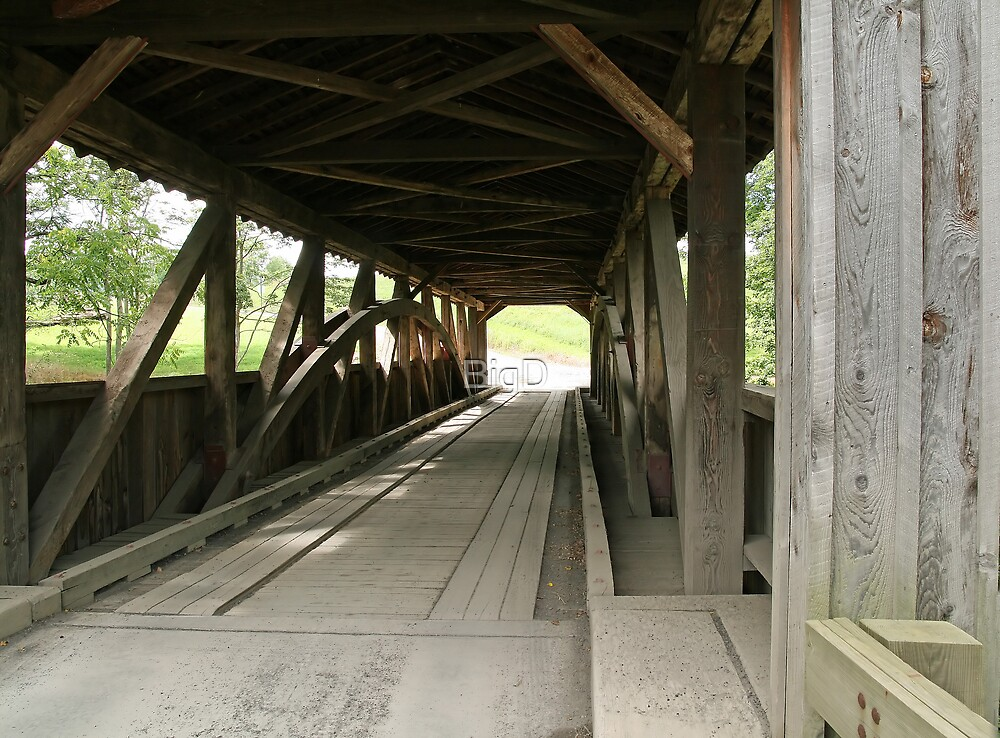 Wooden Covered Bridge by BigD