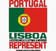 Lisboa Portugal, represent Mens V-Neck T-Shirt