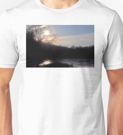 Majestic Indiana Sunset Unisex T-Shirt