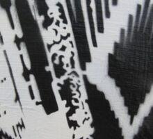 Graffiti Accordion Sticker