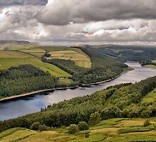 Ladybower Reservoir - The Peak District by Steven  Lee