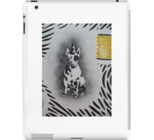 Bull Terrier graffiti iPad Case/Skin