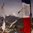 Prayer flags. by Michael Edelstein