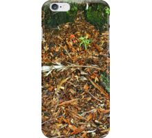 Wet undergrowth iPhone Case/Skin
