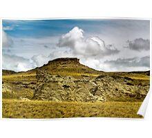 Clouds in South Dakota Poster