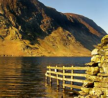 Crummock Water - The Lake District by Steven  Lee