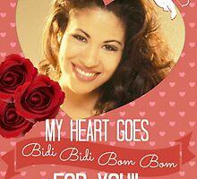 Selena Valentine My Heart Goes... by Rzemog79