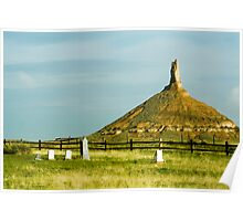 Chimney Rock National Monument, Nebraska Poster